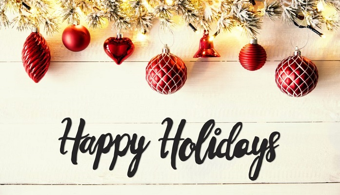 Happy Holidays Wish - Department of Nuclear Engineering